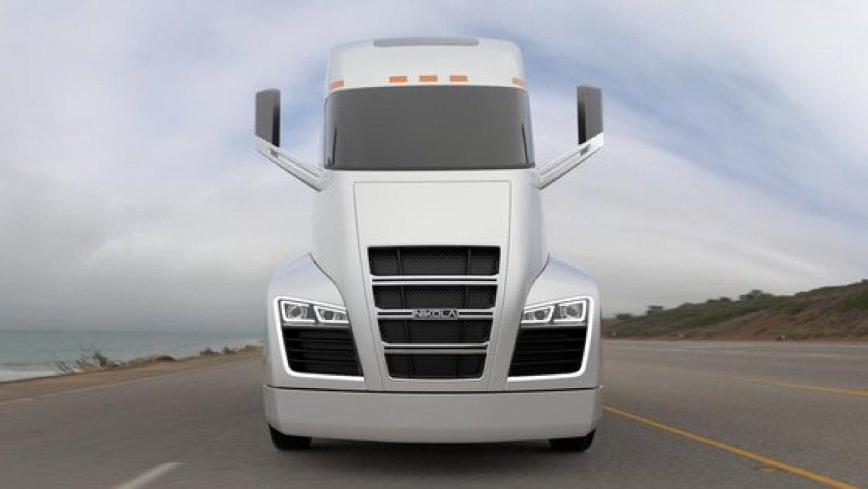 nikola motor a cr le camion que tesla r verait d inventer chauffeur poids lourd. Black Bedroom Furniture Sets. Home Design Ideas